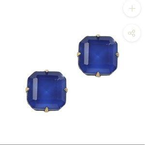 Loren Hope Sophia Stud Earrings in Sapphire